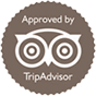 Approved by Trip Advisor